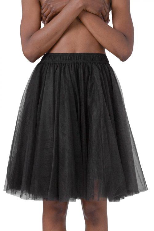 Sort tyllskjørt Cathrine Hammel - 2002 classic tulle skirt