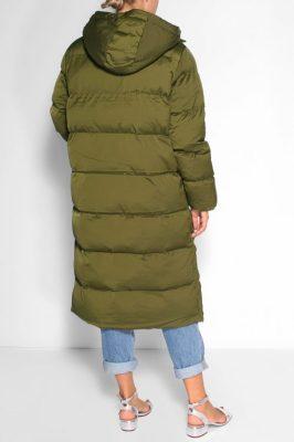 Dark oliven boblekåpe Samsøe - 12891 sera coat