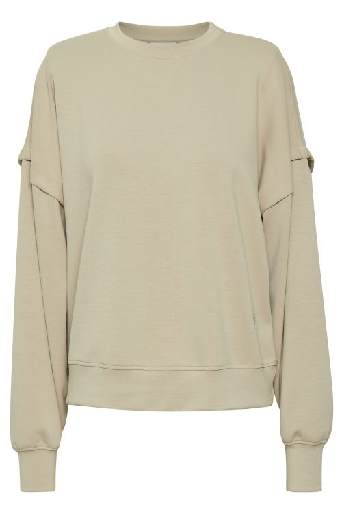 Pure cashmere sand modal sweatshirt Gestuz - chrisda sweat shirt