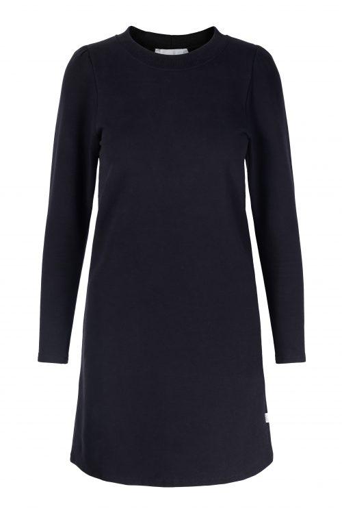 Beige eller sort collage kjole med lang erm Ella&Il - farah dress