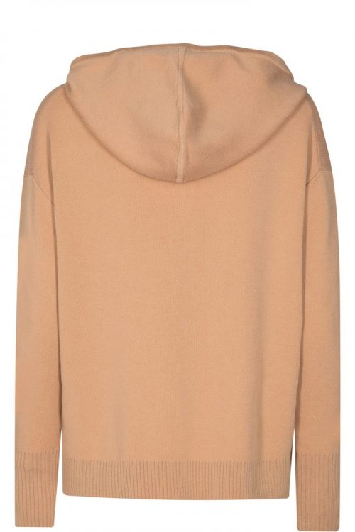 Cuban sand strikket hettejakke Mos Mosh - 136710 robyn hooded knit cardigan