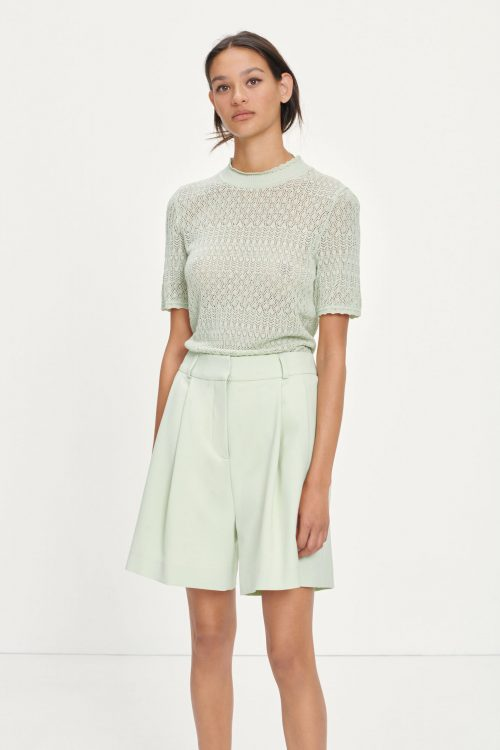 Fog green shorts Samsøe - 13104 fally shorts