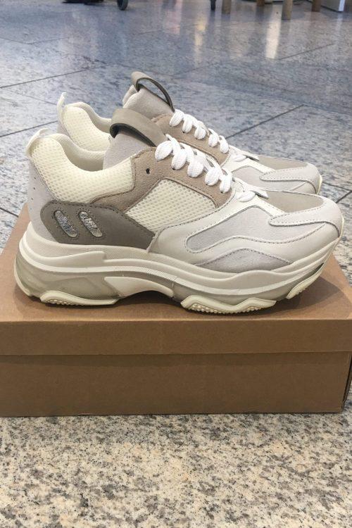 Sand cream white sneakers Shoe Biz - Pilou Sand Mix sand/cream/white
