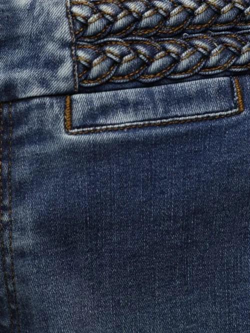Supertrendy vid jeans med flettekant Lois Jeans - 2580-6505 new susanne reram blaze L30/L32