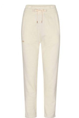 Ecru bomull/visksose sweatpant med fleece Mos Mosh - 139300 cash glam sweatpant