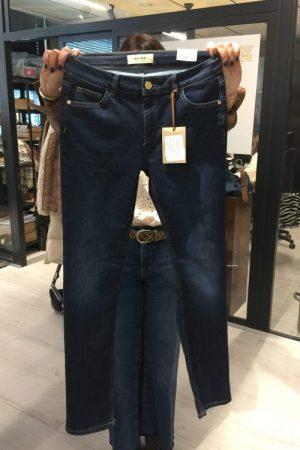 Blue 'Regina cover' jeans med rette ben Mos Mosh - 140672 rigina cover 32