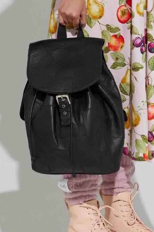 Sort skinnransel Ilag - osa backpack