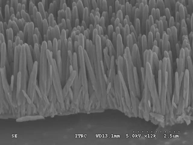 nanotubi verticali Vecchi CD per pulire le acque reflue: ecco il modello che viene da Taiwan