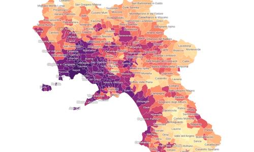 Il consumo di suolo in Campania