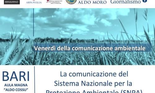 La comunicazione del Sistema Nazionale per la protezione dell'ambiente (SNPA)