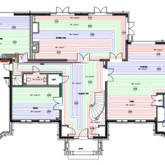 Wiring Diagram For Electric Underfloor Heating Ford Model A Design Comprehensive Guide Cad