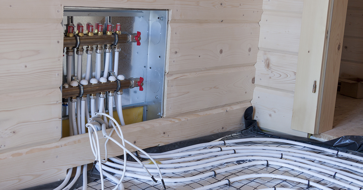New floor heating system