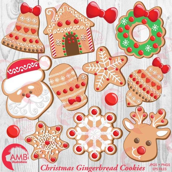 christmas cookie clipart santa