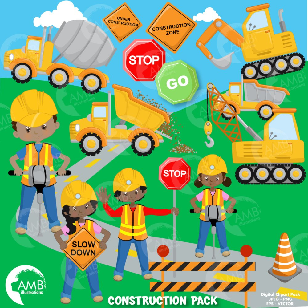 medium resolution of construction clipart dump truck construction boy and girls african american clipart truck
