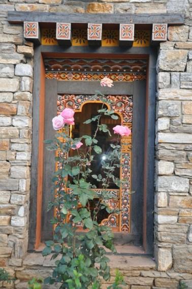 The exterior window