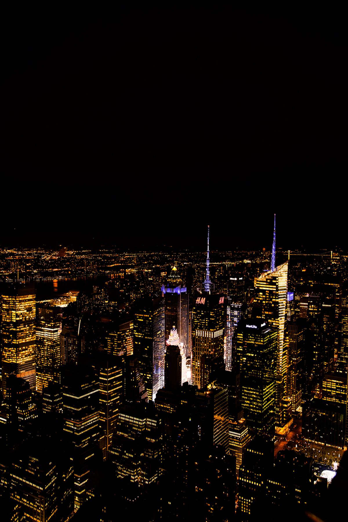 Empire State view New York City february 2015 photo journal