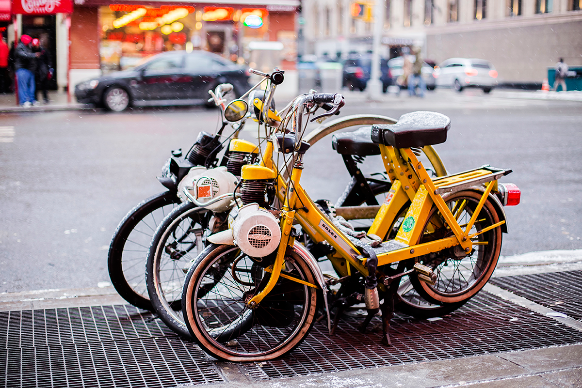 New York City february 2015 photo journal bikes
