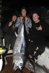 Bluefin tuna 132.5 kilo's