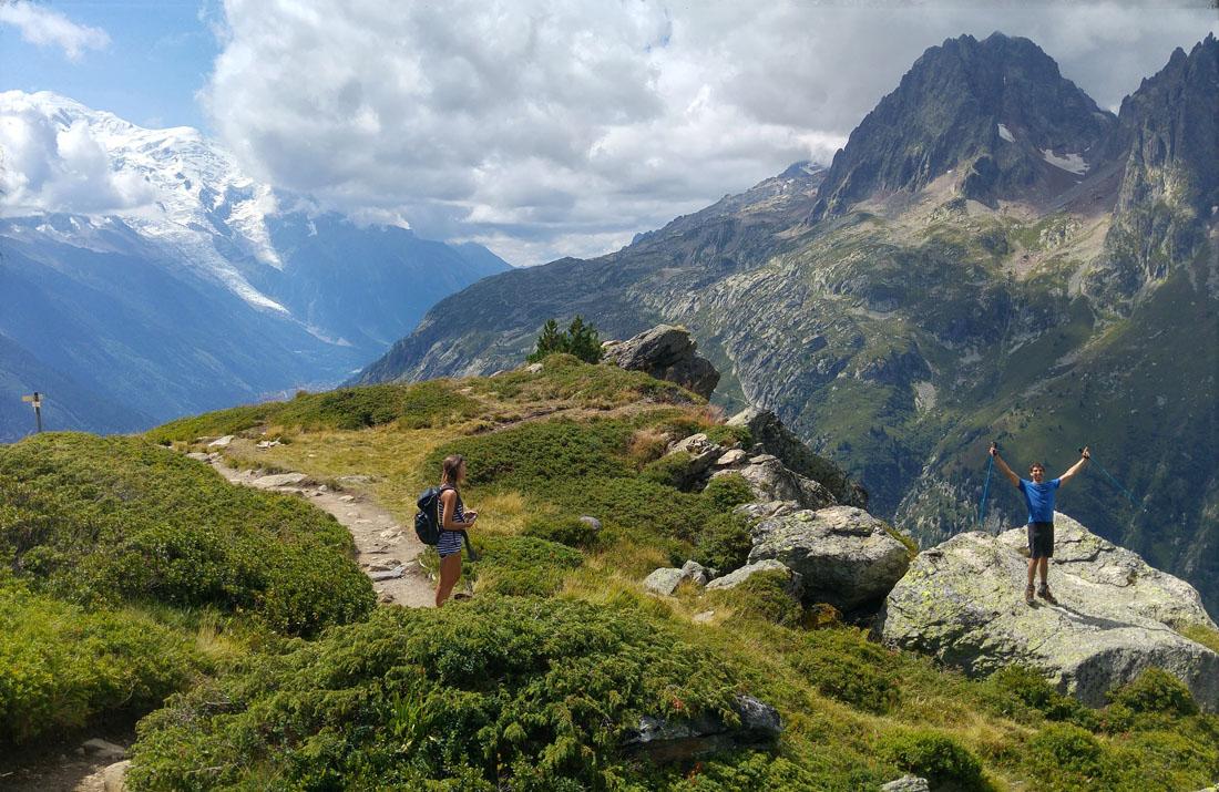 Aiguillette des Posettes 2201m Chamonix-Mont-Blanc