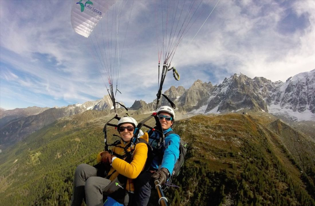 Discover paragliding in Chamonix-Mont-Blanc