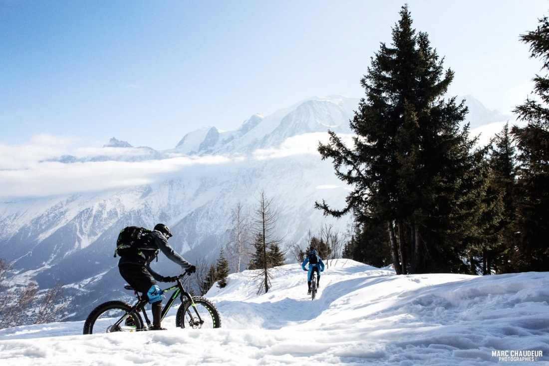 E-FatBike: Guided tours in Chamonix Mont Blanc