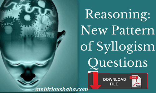 Syllogism Mcqs Latest Pattern Based Different Types Covered