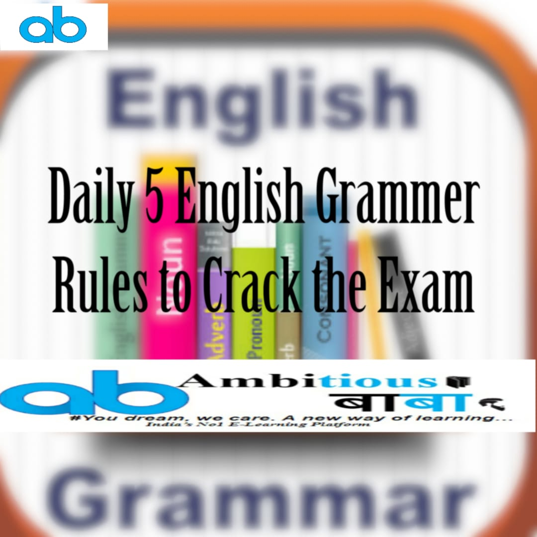 DAILY MOST IMPORTANT ENGLISH GRAMMAR RULE | DAY-27