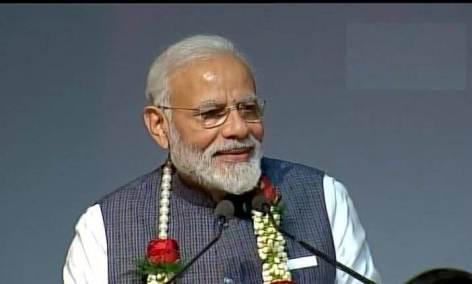 PM Modi attends Gita Aradhana Mahotsav at ISKCON