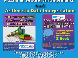 puzzle and data interpretation ebook