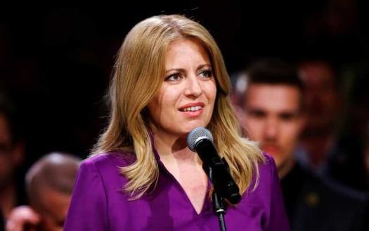 Zuzana Caputova becomes Slovakia's first female President
