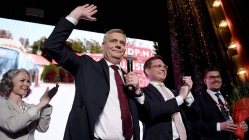 Centre-left Social Democratic Party wins Finland general election