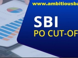 sbi po previous year cutoff