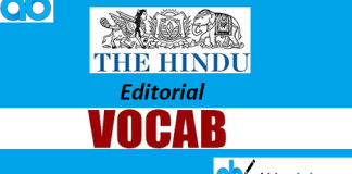 editorial vocabs