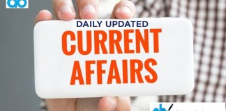 current-affairs daily update | Daily gk updates