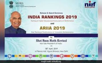 President of India releases the India rankings – 2019 and the Atal Ranking of Institutions on Innovation Achievements