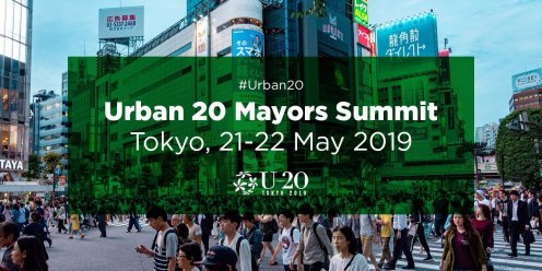 2019 Urban 20 Mayors Summit to take place in Tokyo on 21-22 May