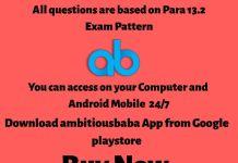 Para 13.2 online test series