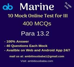 Marine Mock Test