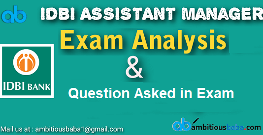 Previous-year-Cutoff-AM-1BI Assistant manager exam analysis 2019
