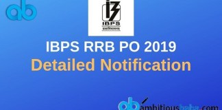 RRB po Notification 2019