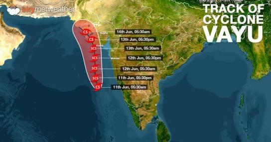 Cyclone Vayu: Cyclone Alert For Gujarat, Lakshadweep, Kerala And Karnataka