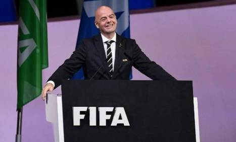 Gianni Infantino re-elected as FIFA president