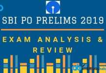 SBI PO Prelims 2019 Exam Analysis & Review