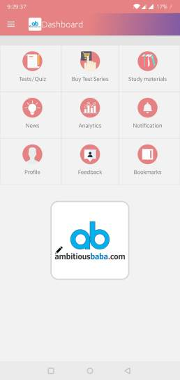Ambitiousbaba Android App Test/Quiz