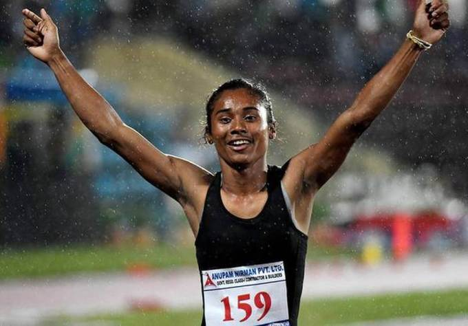 Anas and Hima run to gold;silver for Nirmal and Vismaya at Tabor Grand Prix