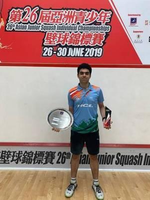 Veer Chotrani wins U19 Asian squash title