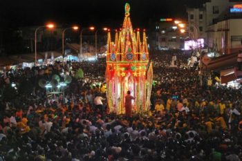 Annai Velankanni festival began in Chennai