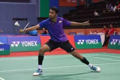 Hyderabad Open badminton: Sourabh won title
