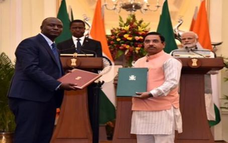 6 MoU sing between India and Zambia