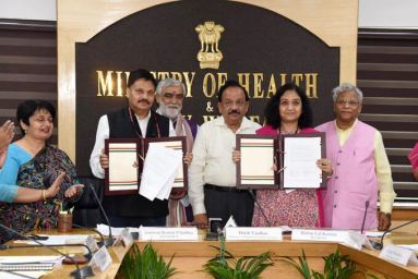 MoU Signed between Department of Social Justice & Empowerment and National AIDS Control Organization